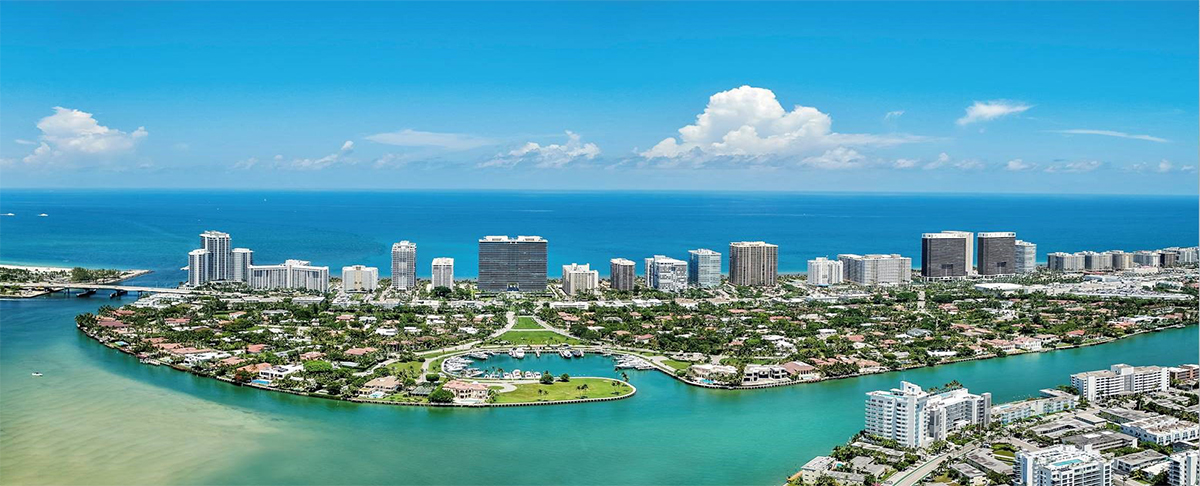 Bal Harbour Arial Shot